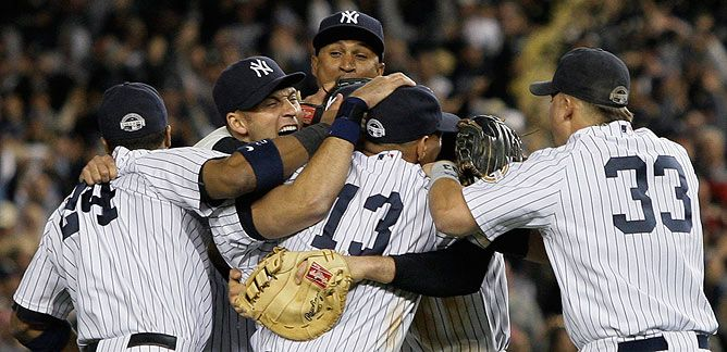 Image result for 2009 alcs yankees espn