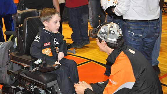 A young Joey Logano fan gets the surprise of a lifetime  ESPN