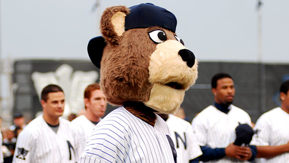 Newark Bears Mascot Ruppert