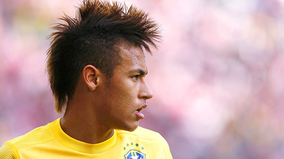 How To Do The Hair Of Neymar Mohawk Hairstyle Men's Hair Blog