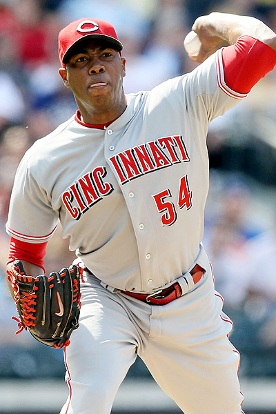At 106 MPH, Aroldis Chapman can throw a baseball harder than any human on Earth.