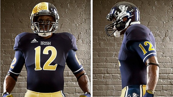 A Big Ten Guy s Defense of Notre Dame (Except for the Ed Hardy Uniforms) 22ca61358