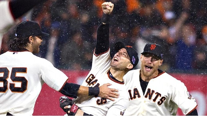 Image result for 2012 nlcs final out