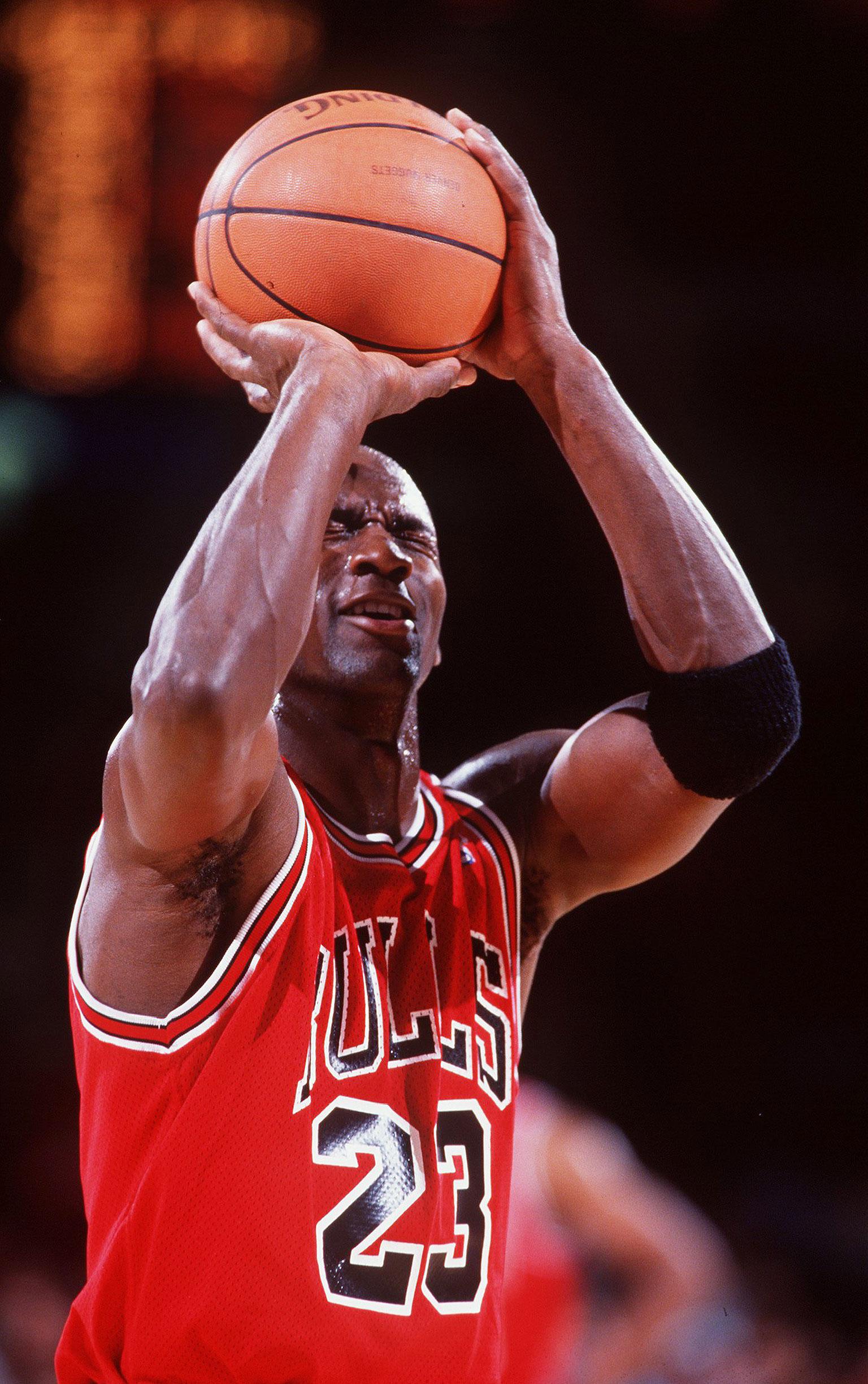 35 Blind Free Throw Michael Jordan 50 Greatest Moments ESPN