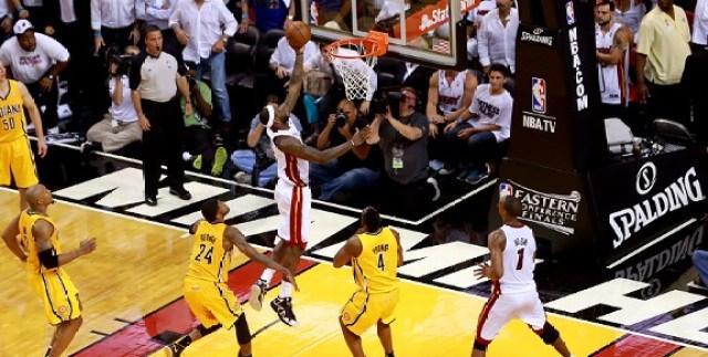 LeBron James hits game winner