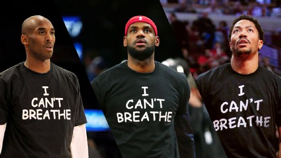 Kobe Bryant, LeBron James, Derrick Rose
