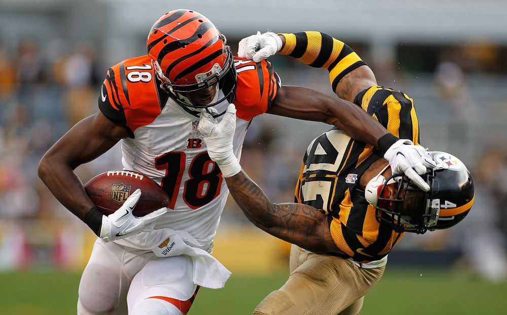 A.J. Green is in line for a huge share of the Bengals targets