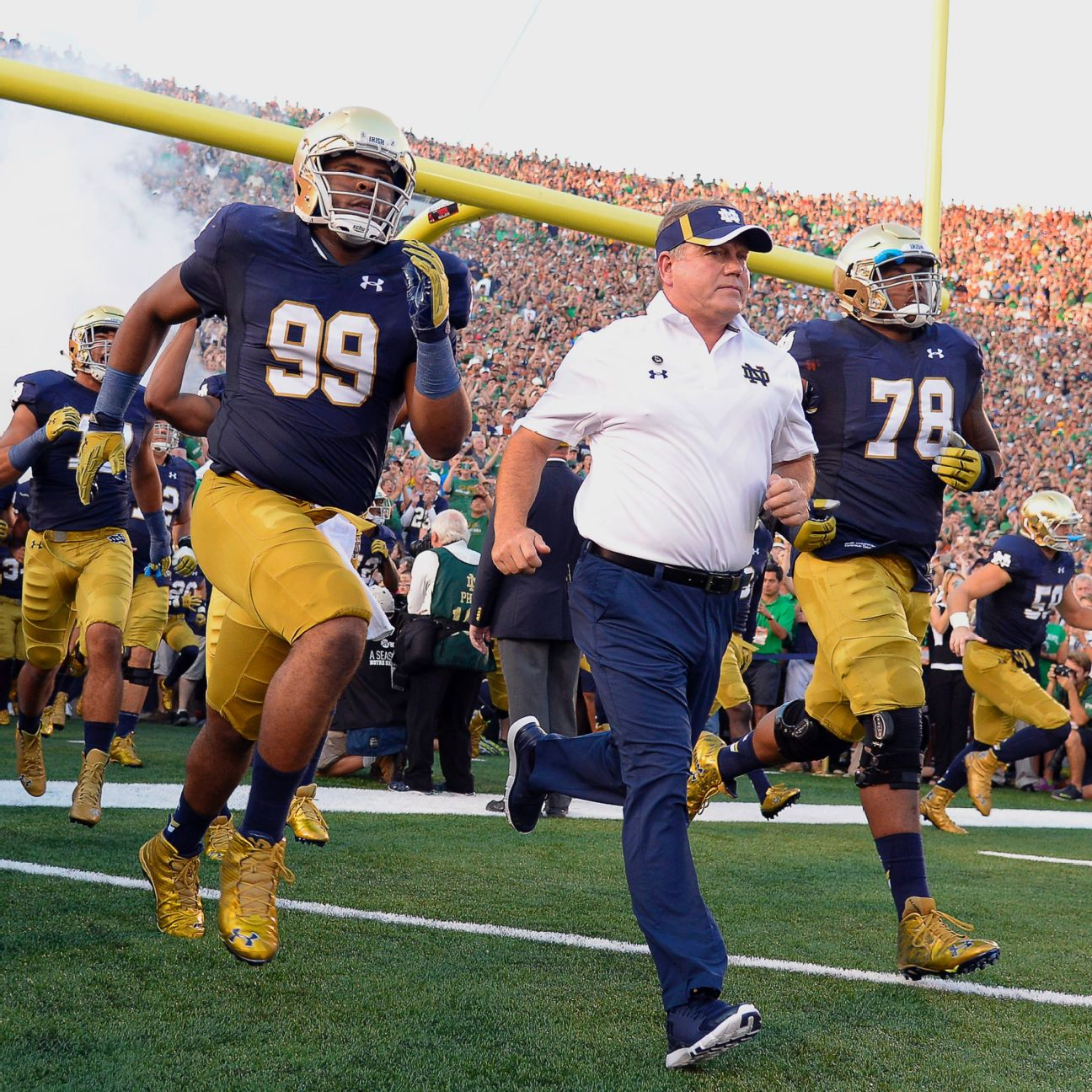 notre dame office chair lift recliners and brian kelly may be in it for life espn
