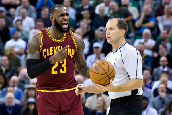 are lebron james frustrations with referees warranted