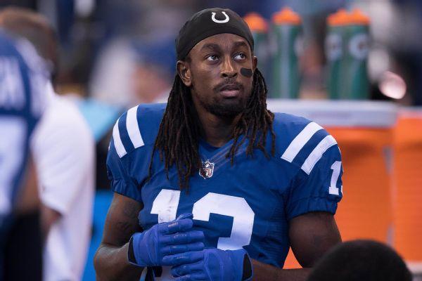 Colts WR Hilton to make season debut vs. Texans
