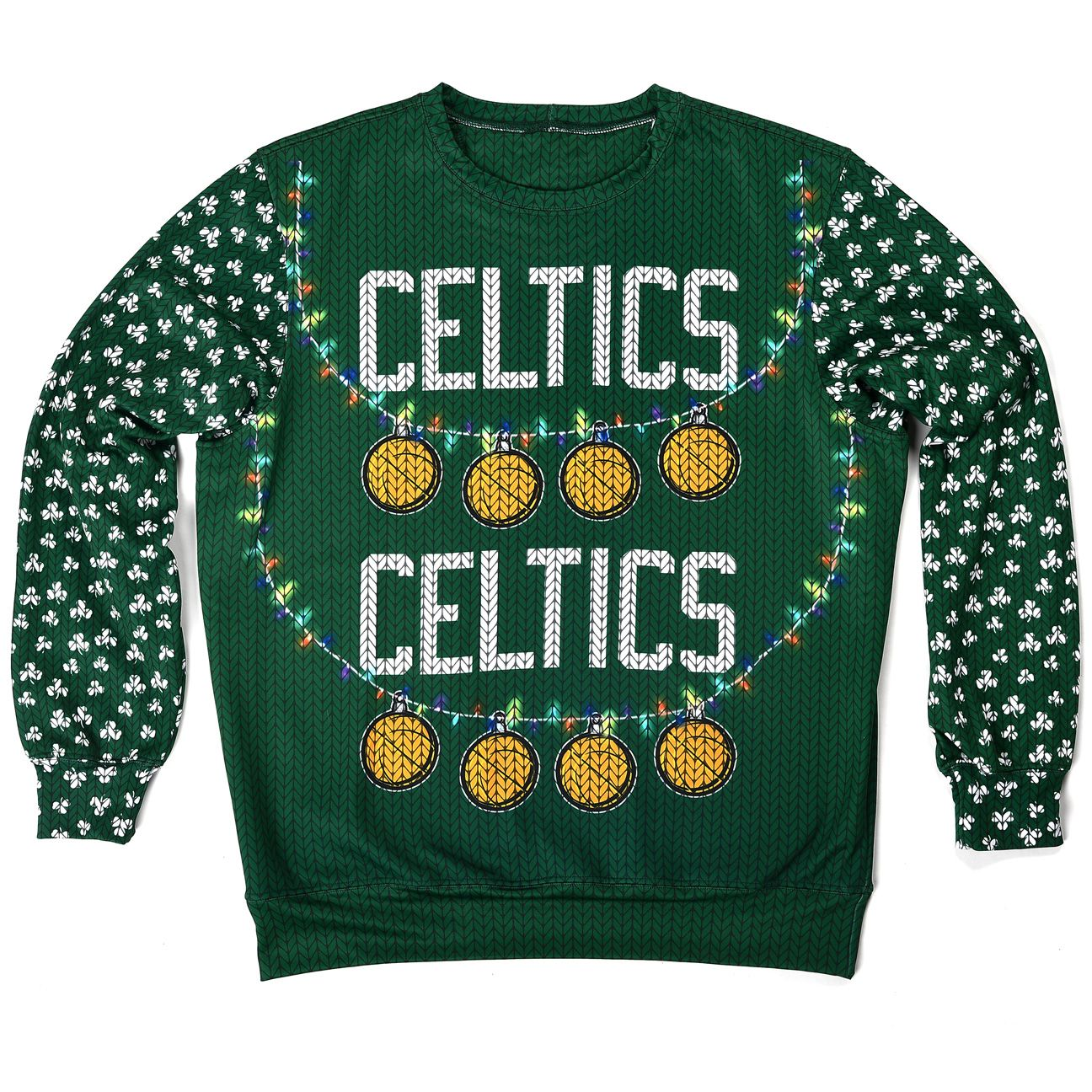 Celtics ugly sweater