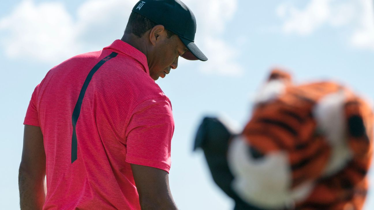 """Tiger Woods Thought He """"was Done"""" With Golf At The '17 Masters Champions  Dinner -- Prior To Spinal Fusion Surgery. Said Woods: """"i Had No Golf In My  Future"""