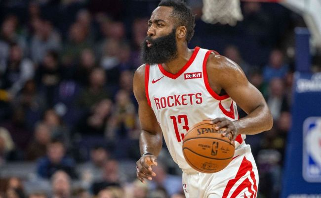James Harden Extends 30 Point Streak To 31 Games Second