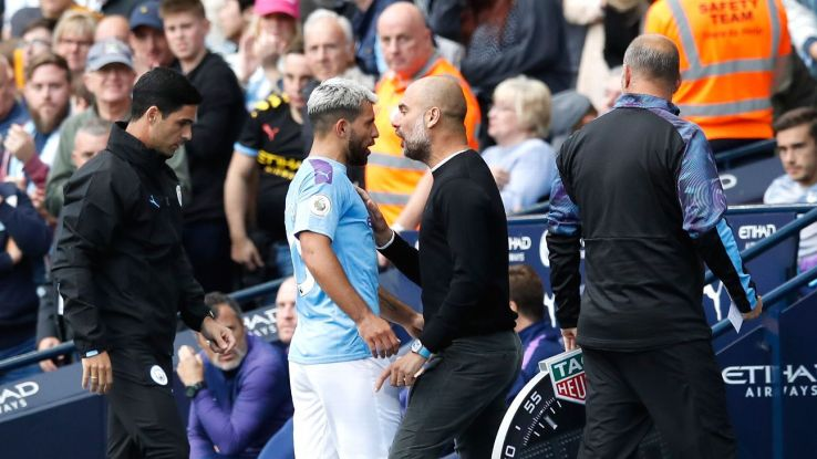 Pep downplays Aguero row: I
