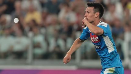 Image result for hirving lozano napoli