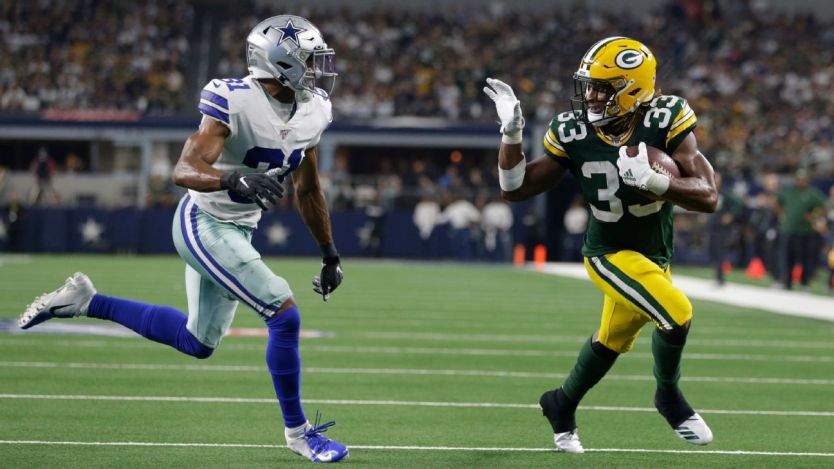 Packers' Aaron Jones fined $10,527 for taunting Cowboys' Byron Jones