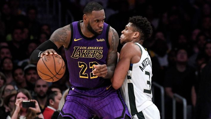 Had LeBron James closed the gap on Giannis Antetokounmpo in the ...