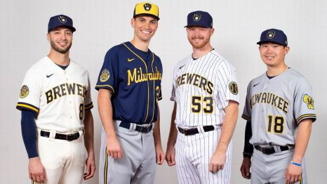 Milwaukee Brewers bring back iconic logo in new uniforms