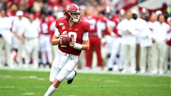 Quarterback Mac Jones now favorite to be selected third overall by San  Francisco 49ers