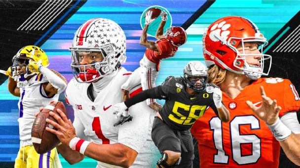 Nfl Kiper Mcshay Mock Draft Bill Barnwell Proposes Deals For All 32 Picks, Including The Jaguars, Jets And Patriots