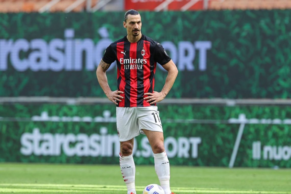 Zlatan close to new deal with AC Milan, club says