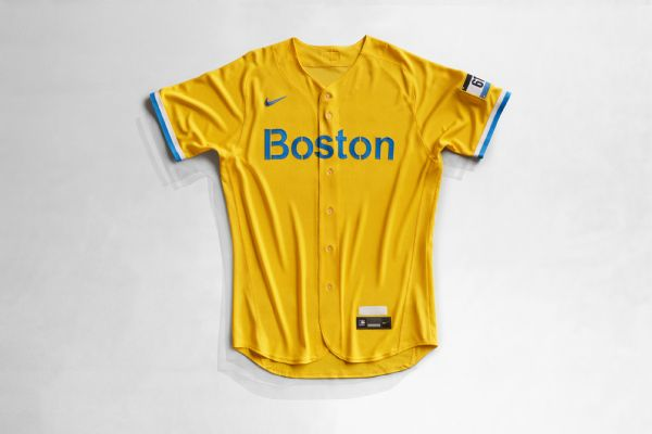 Where's the red? Sox unveil blue-yellow uniforms