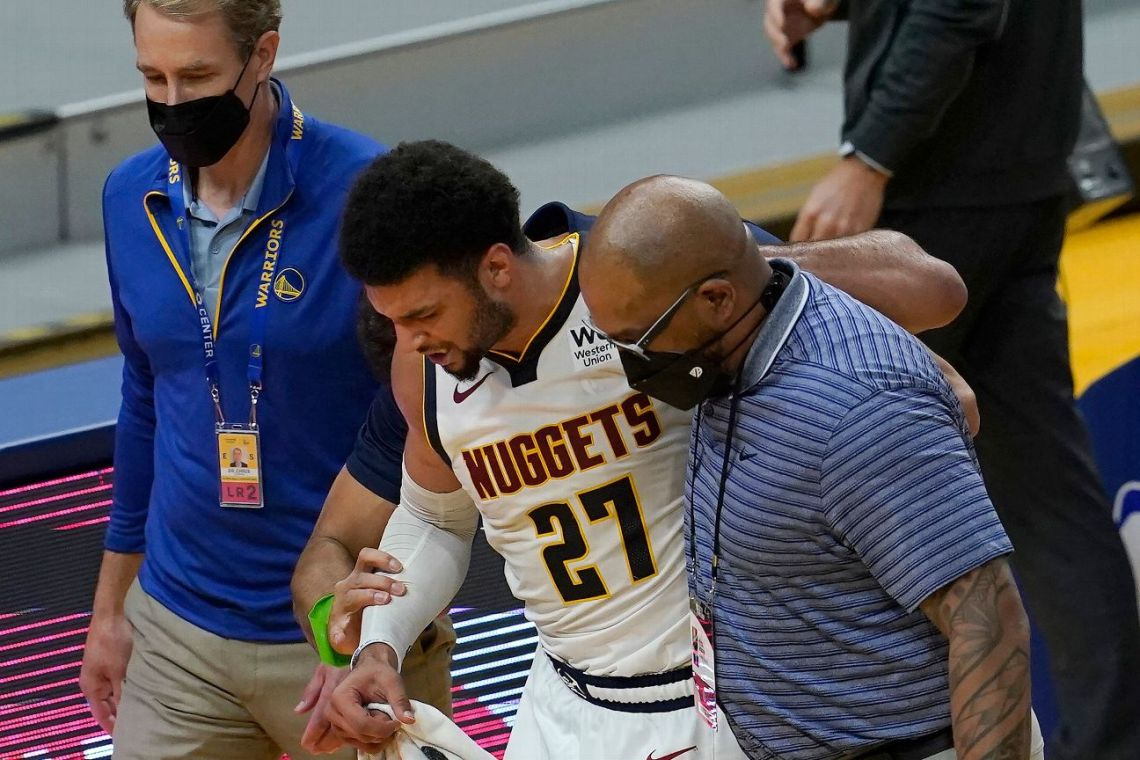 Nuggets' Murray has torn ACL, out indefinitely