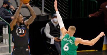 Streaking Knicks cite early faith for winning ways