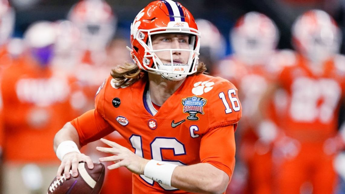 Jaguars take QB Lawrence No. 1 overall in draft