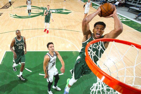 Giannis outduels KD as Bucks win showdown