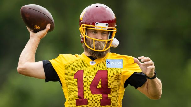 Ryan Fitzpatrick calls Washington Football Team 'best situation I've ever been in'
