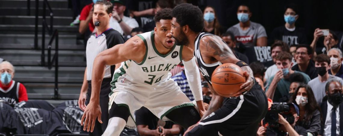 Follow live: Giannis and the Bucks look to slow Brooklyn's big three