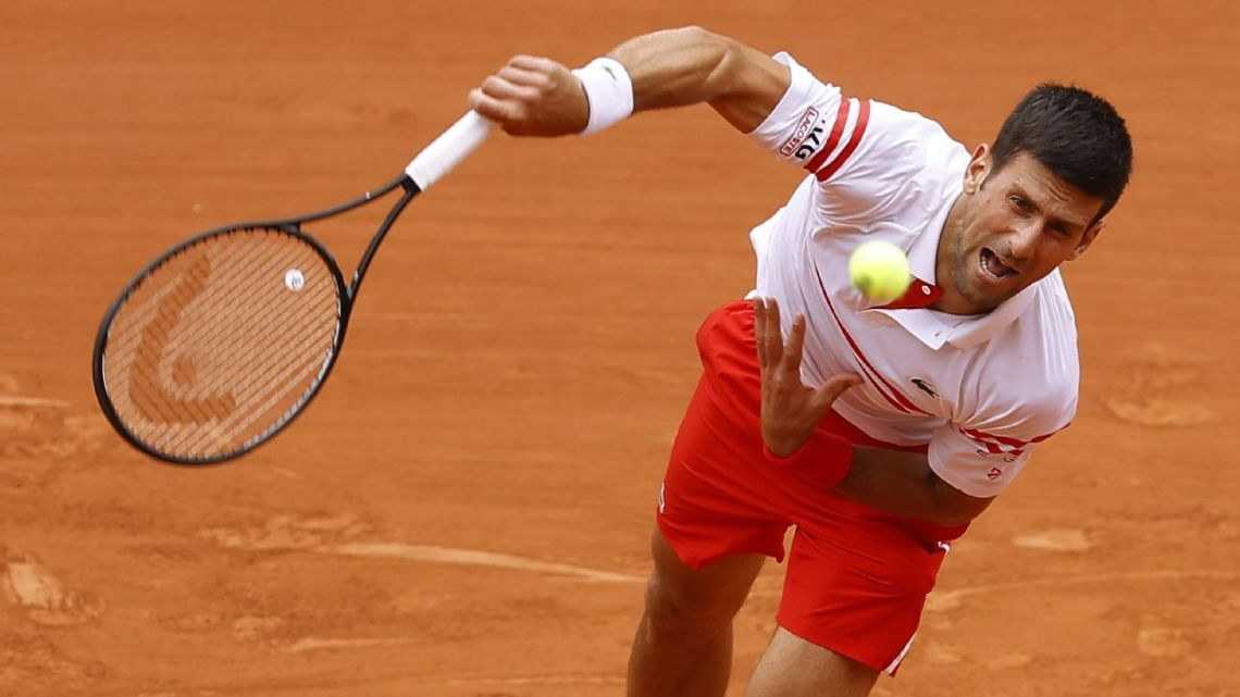 Follow live: Djokovic on the ropes versus teenager Musetti