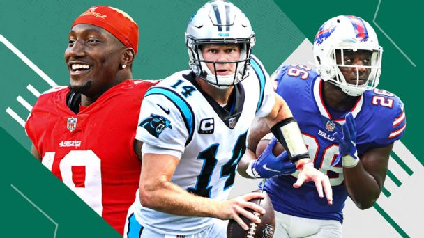 NFL Power Rankings: Who's rising and falling, plus under-the-radar fantasy standouts