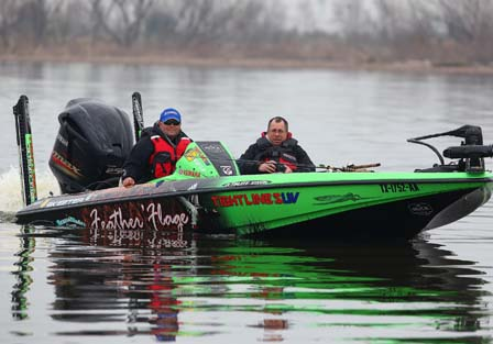 2011 Bassmaster Classic Official Practice - On the Water