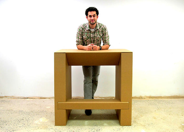 This Cheap Strong Cardboard Standing Desk Will Let You