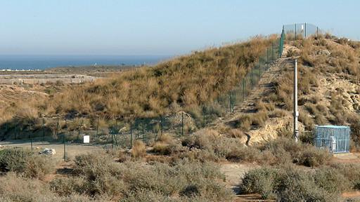 zona contaminada con plutonio en Palomares, España