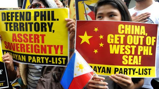 Căng thẳn Biển giữa TQ và Philippines