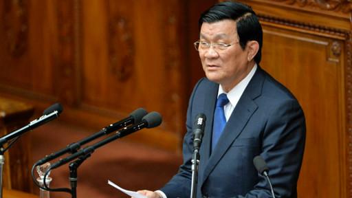 Chủ tịch VN Trương Tấn Sang