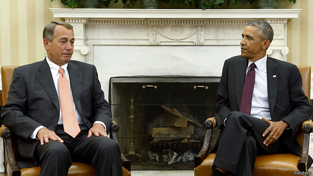 Obama y Boehner