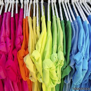 Camisetas de colores