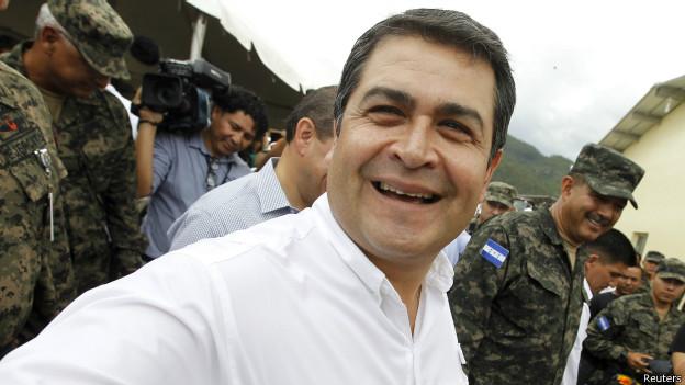 Presidente de Honduras Juan Orlando Hernández