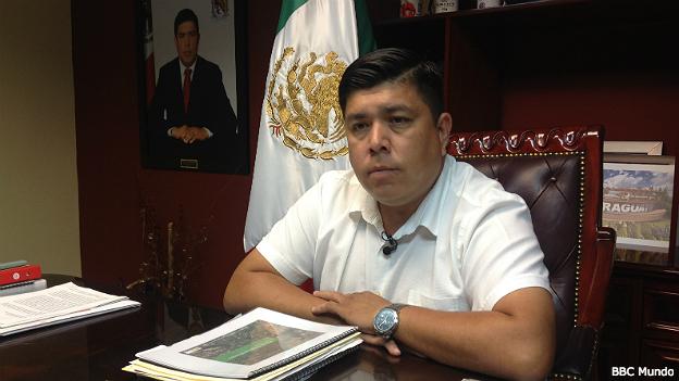 Mario Valenzuela, alcalde de Badiraguato