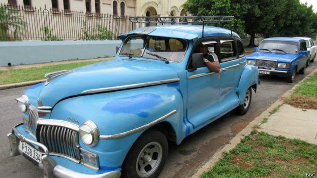 Muchos de estos autos de La Habana lucen muy cuidados pese a tener más de medio siglo.
