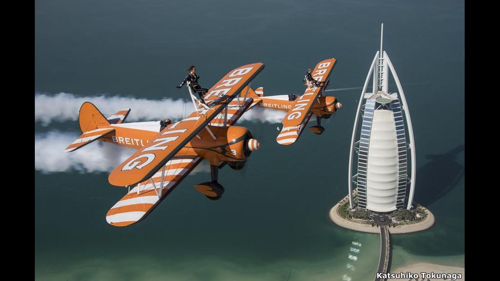 Marie Killerby y Sarah Tanner sobre el hotal Burj Al Arab