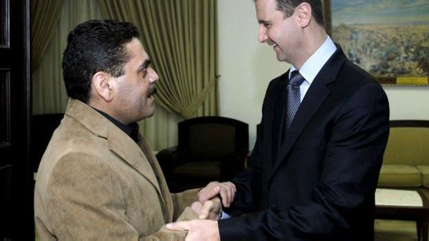 Qantar y Bashar al Asad