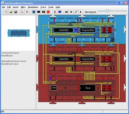 Circuit Simulation Circuit Description Breadboard Layout Photo Of The