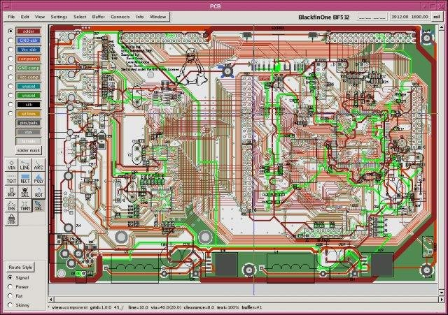 Printed Circuit Board Layout Tool Download SourceForge Net