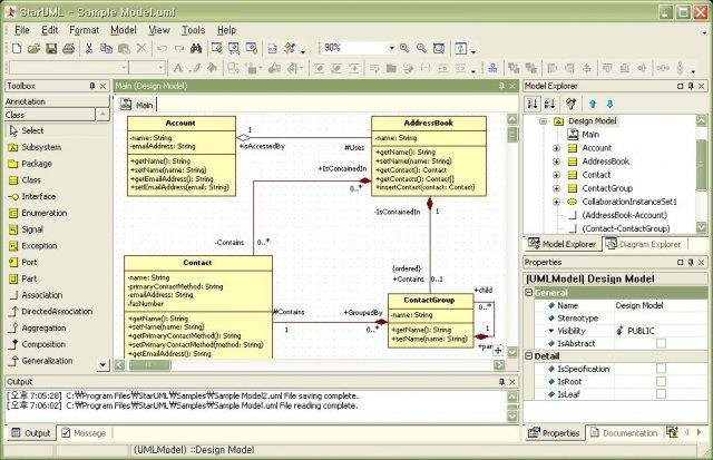 visio uml component diagram chamberlain garage staruml download | sourceforge.net