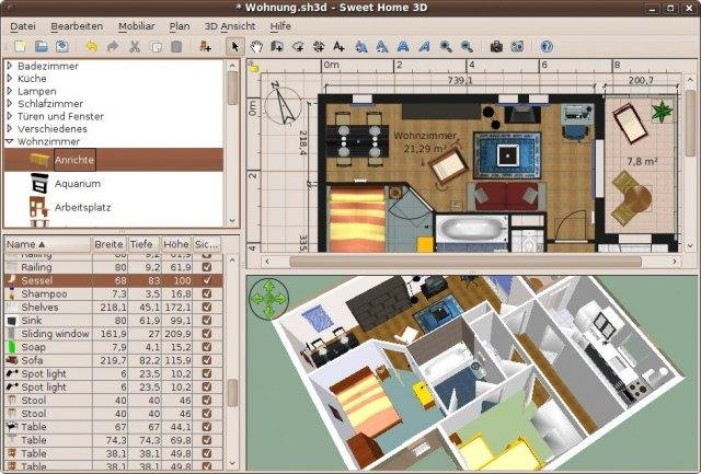 Since it doesn't have complex advanced features such as some other top tier software on our list, it's very easy to navigate around and it's much more accessible for beginner users and those … Sweet Home 3d Download Sourceforge Net